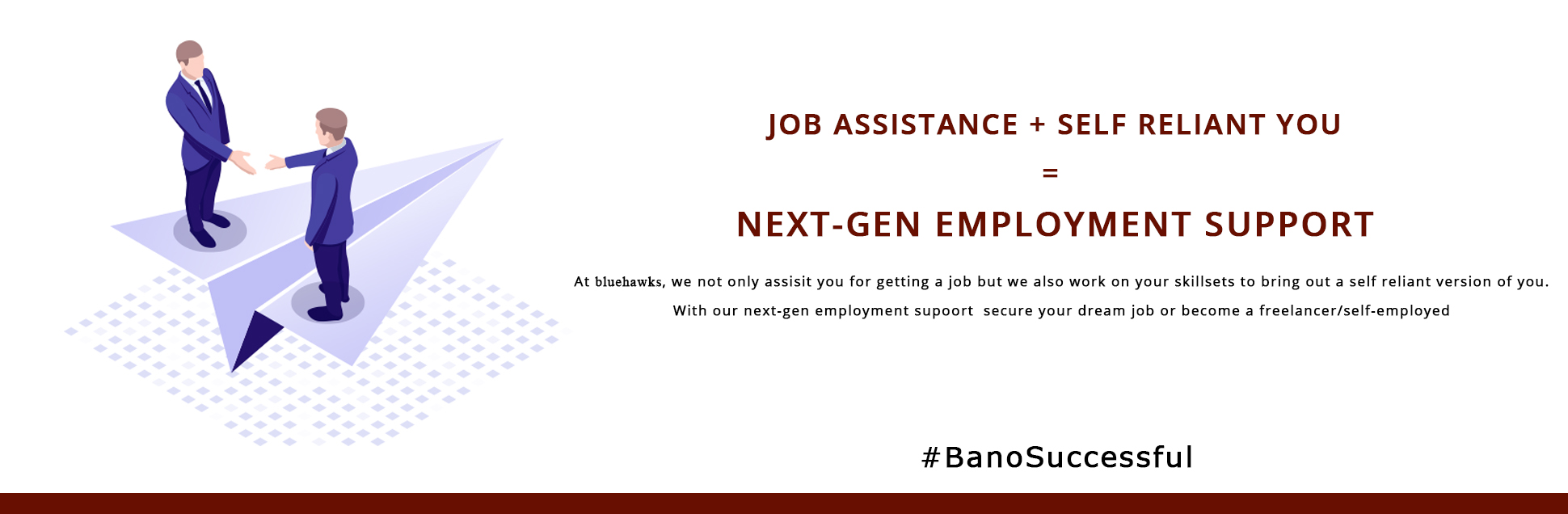 NEXT GET EMPLOYMENT SUPPORT HEADER